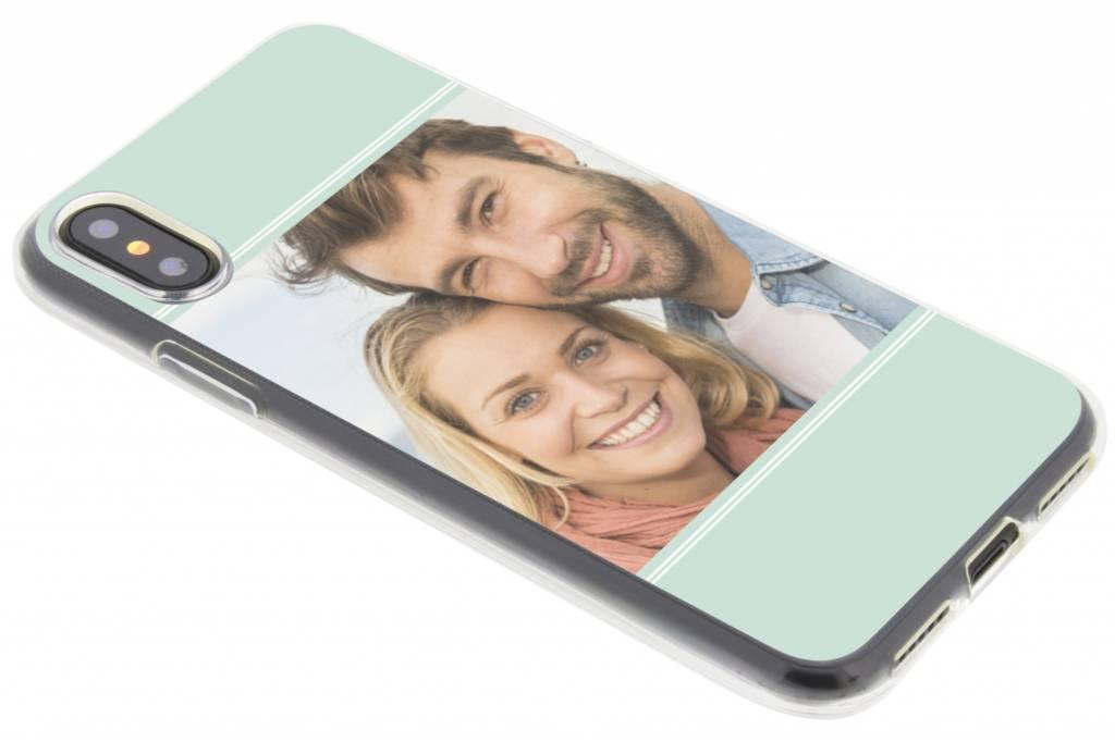 Ontwerp je eigen iPhone Xs / X gel hoesje
