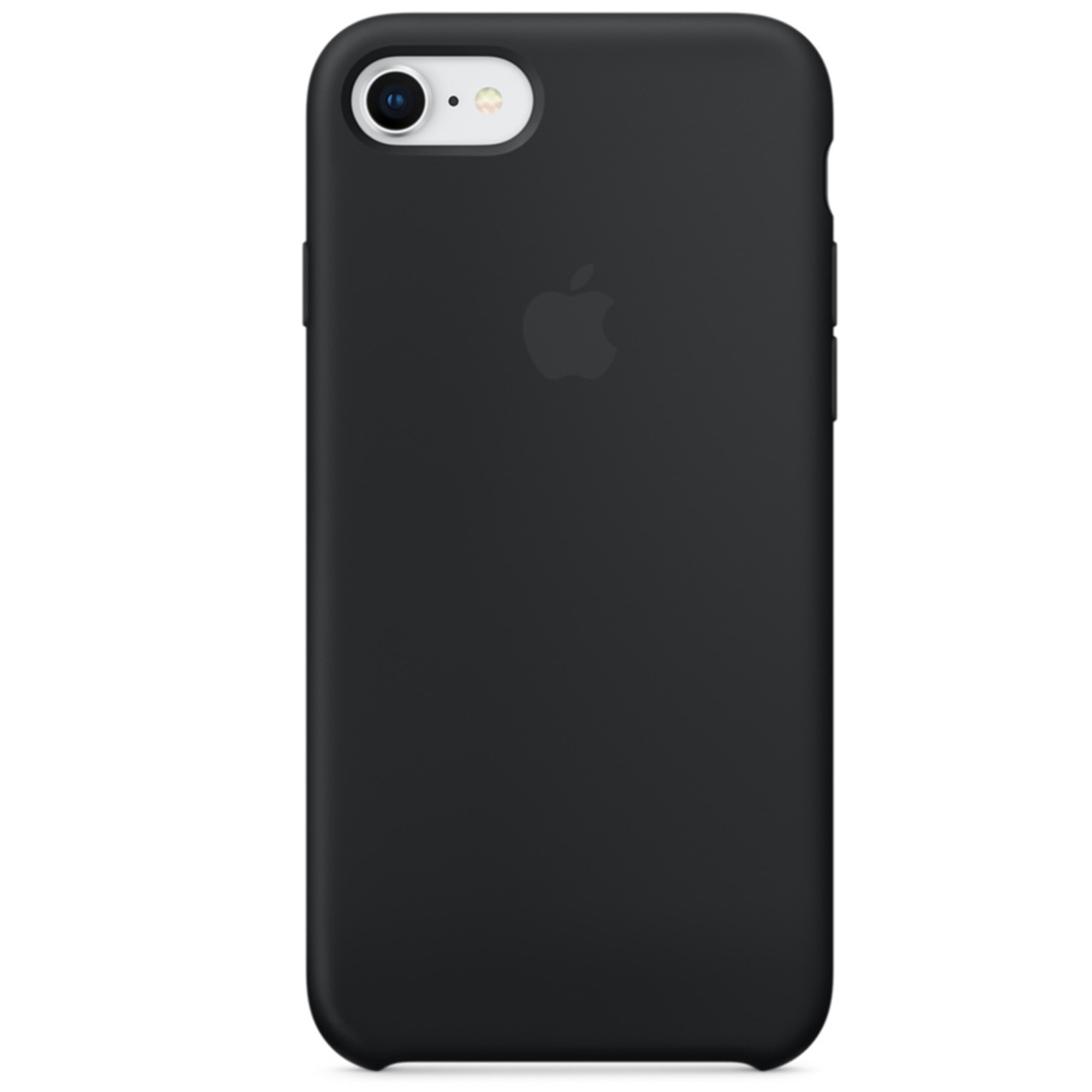 Apple Silicone Backcover iPhone SE (2020) / 8 / 7 - Black