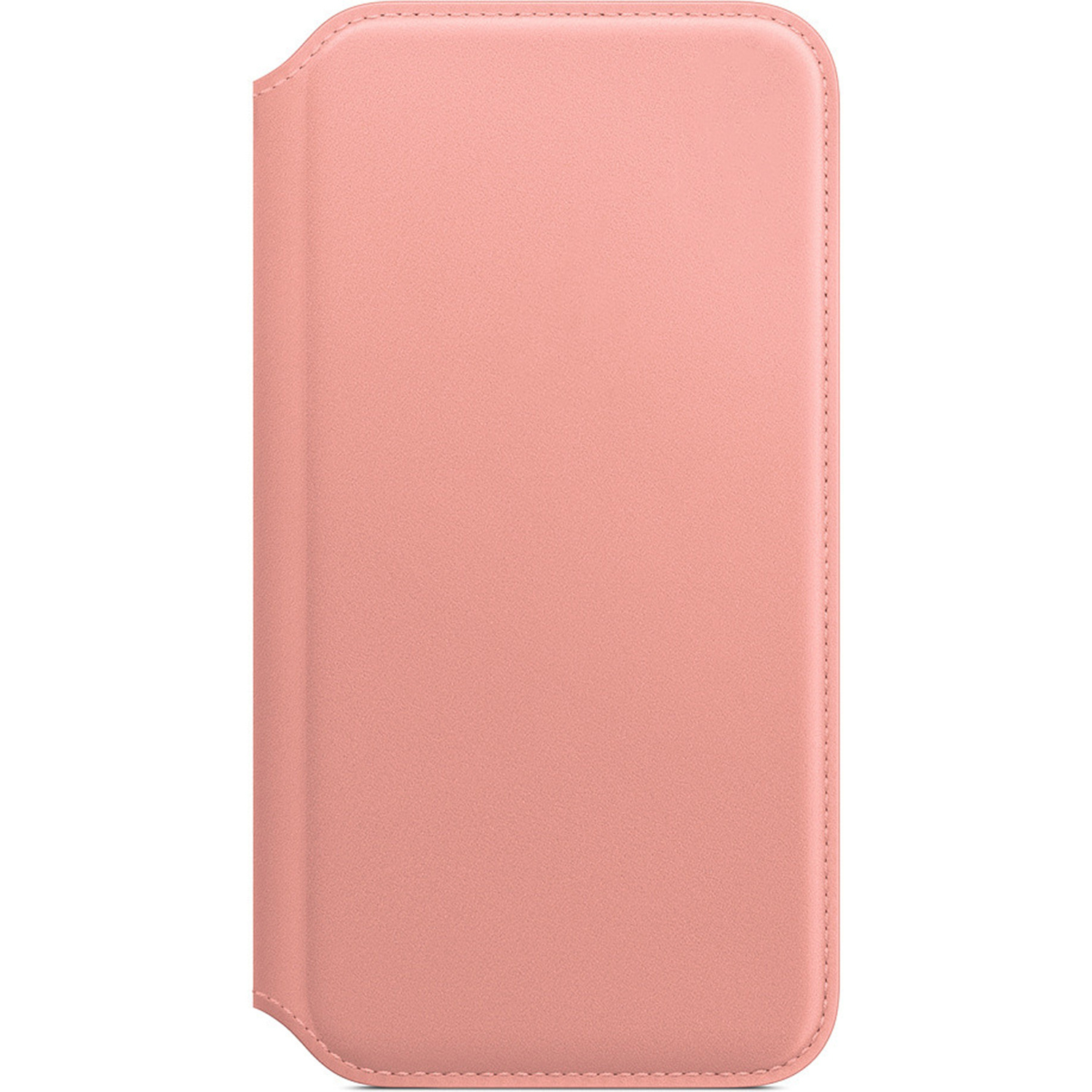 Apple Leather Folio Booktype iPhone X / Xs - Soft Pink