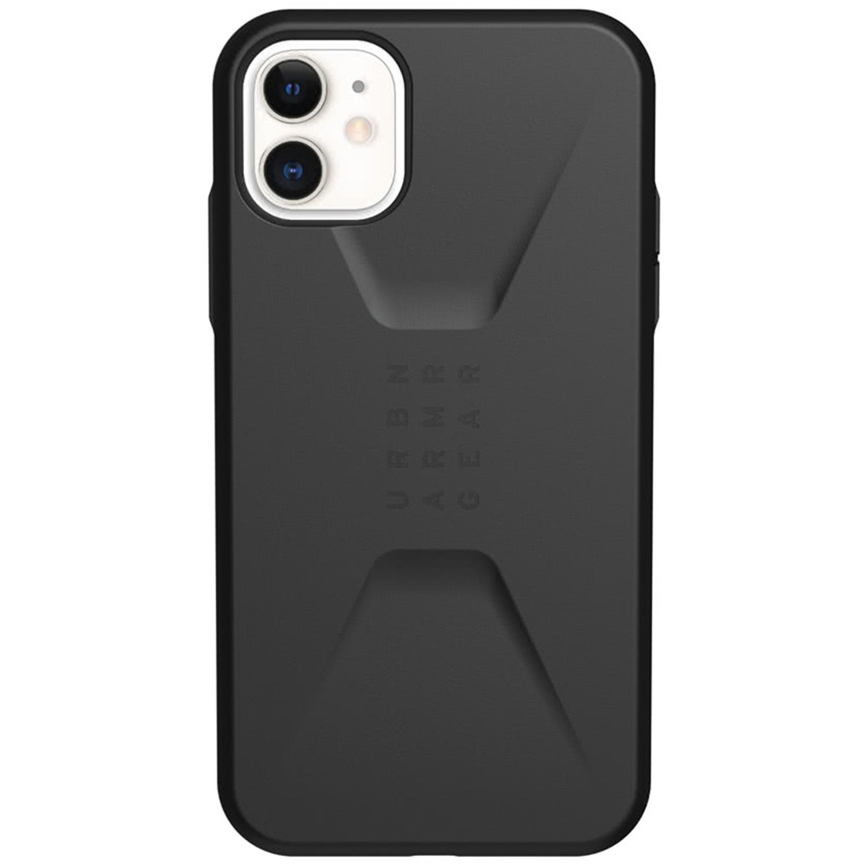 UAG Civilian Backcover iPhone 11 - Zwart