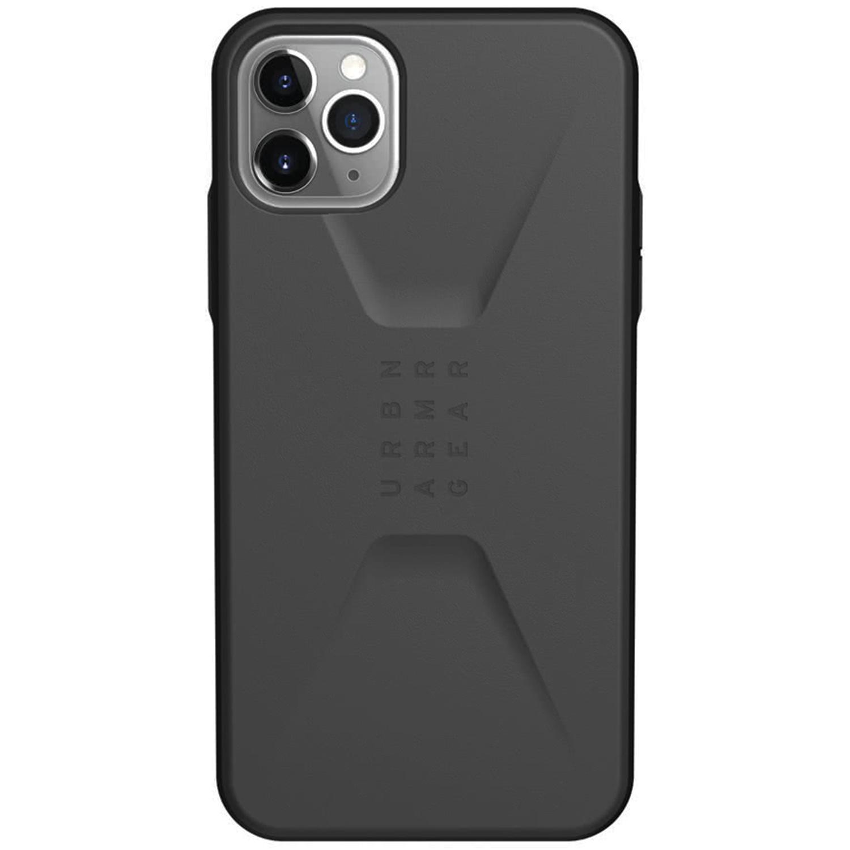 UAG Civilian Backcover iPhone 11 Pro Max - Zwart