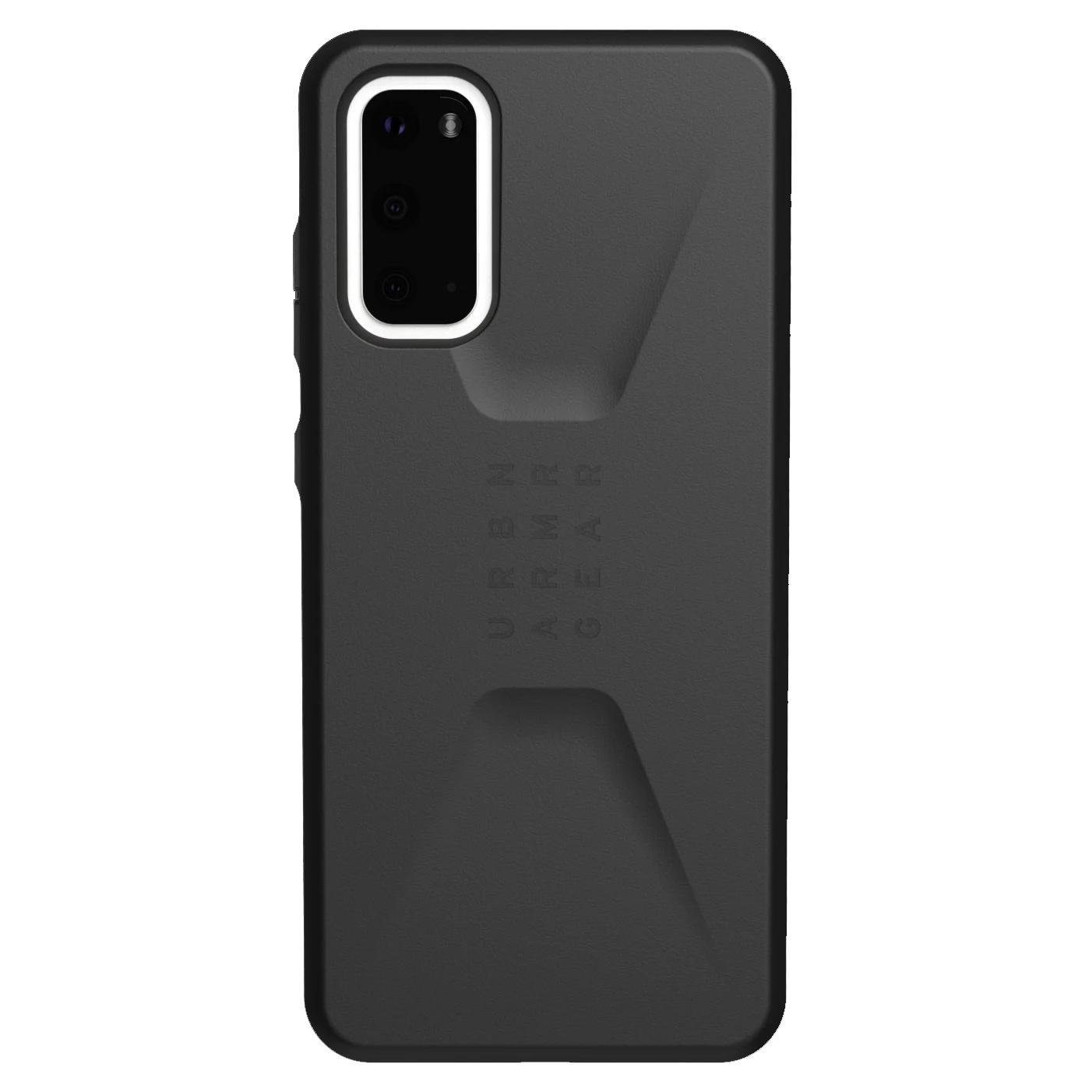 UAG Civilian Backcover Samsung Galaxy S20 - Zwart