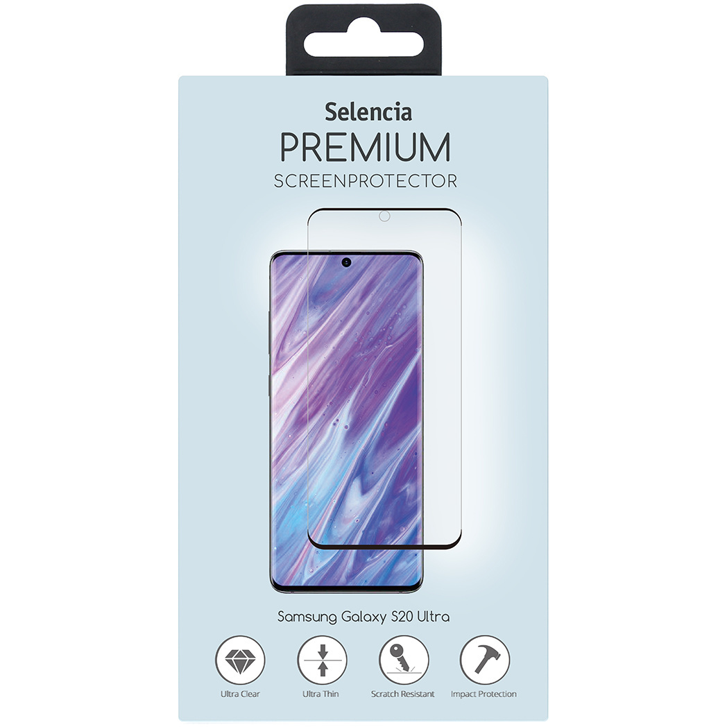 Selencia Gehard Glas Premium Screenprotector Samsung Galaxy S20 Ultra