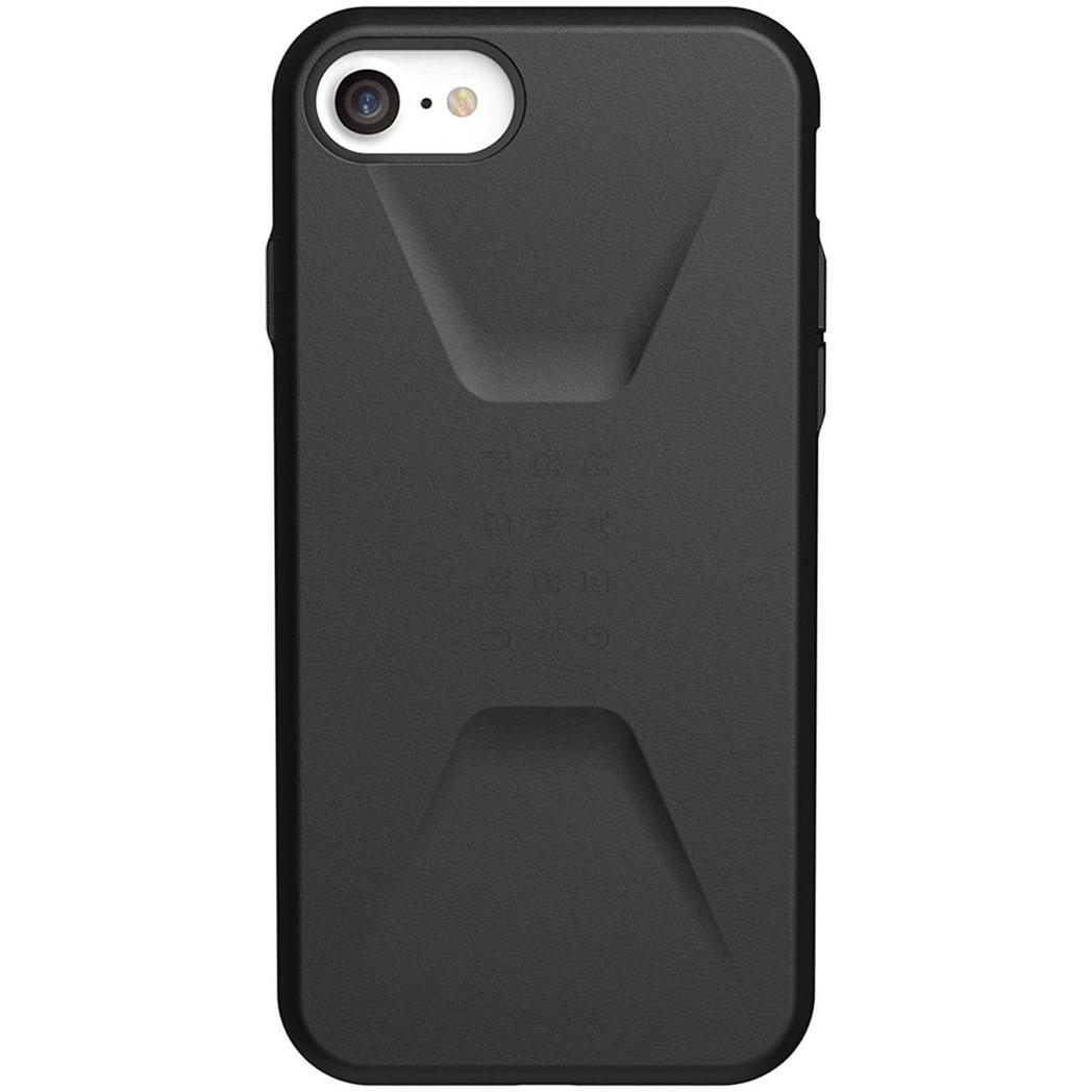 UAG Civilian Backcover iPhone SE (2020) / 8 / 7 / 6(s) - Zwart
