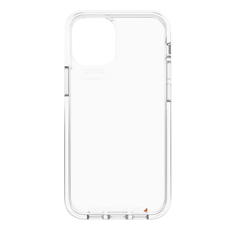 Gear4 Crystal Palace Backcover iPhone 12 Mini - Transparant