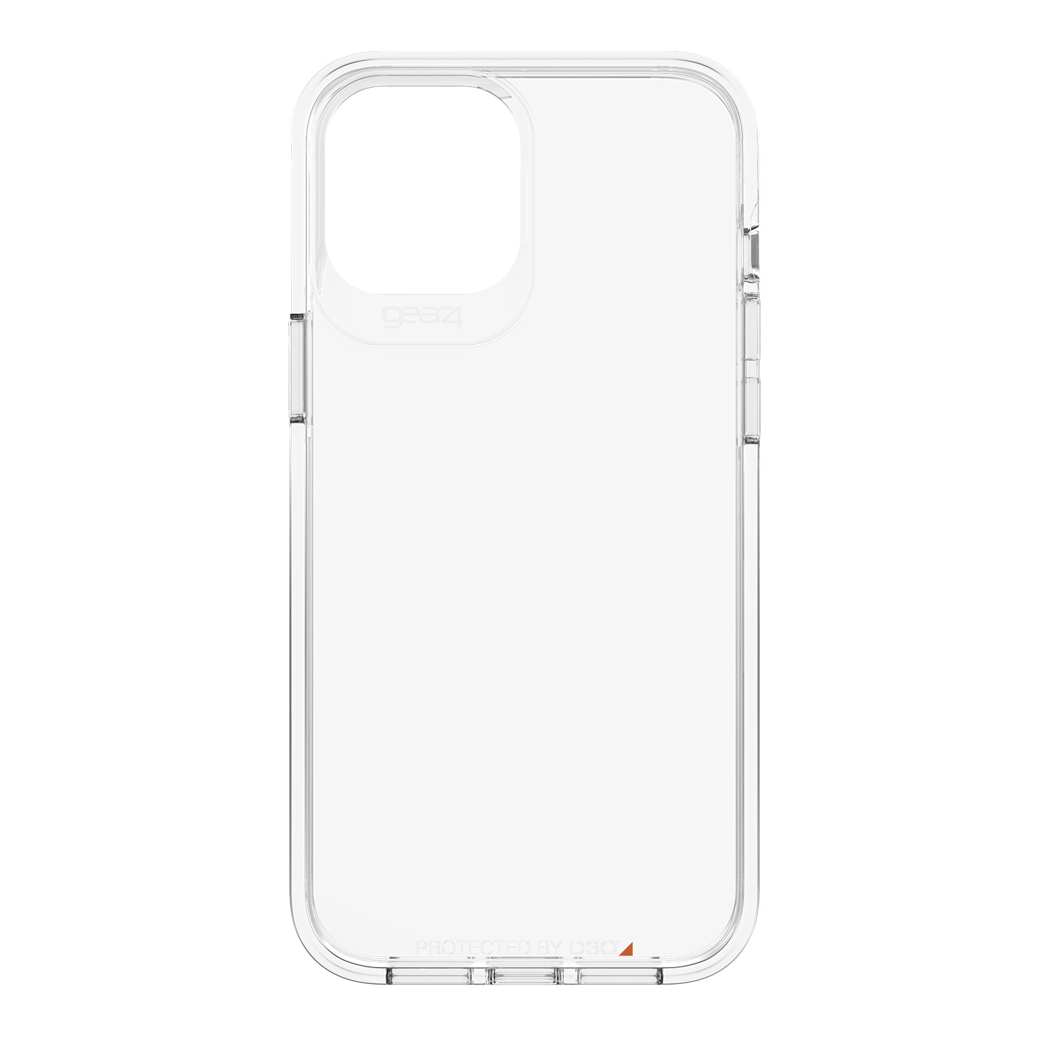 Gear4 Crystal Palace Backcover iPhone 12 Pro Max - Transparant