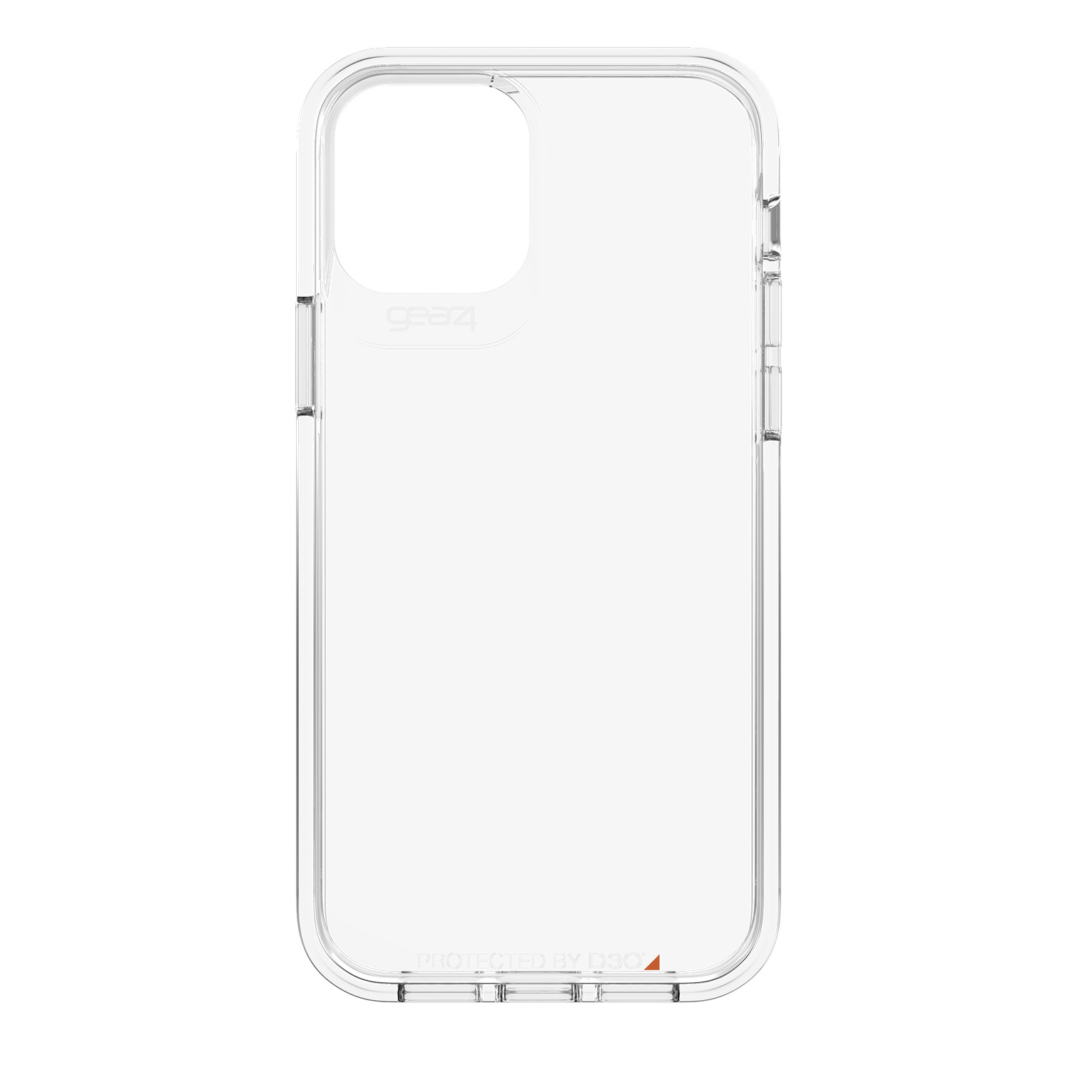 Gear4 Crystal Palace Backcover iPhone 12 (Pro) - Transparant