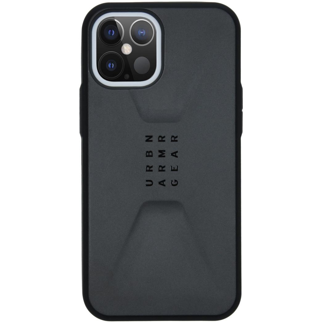 UAG Civilian Backcover iPhone 12 Pro Max - Zwart