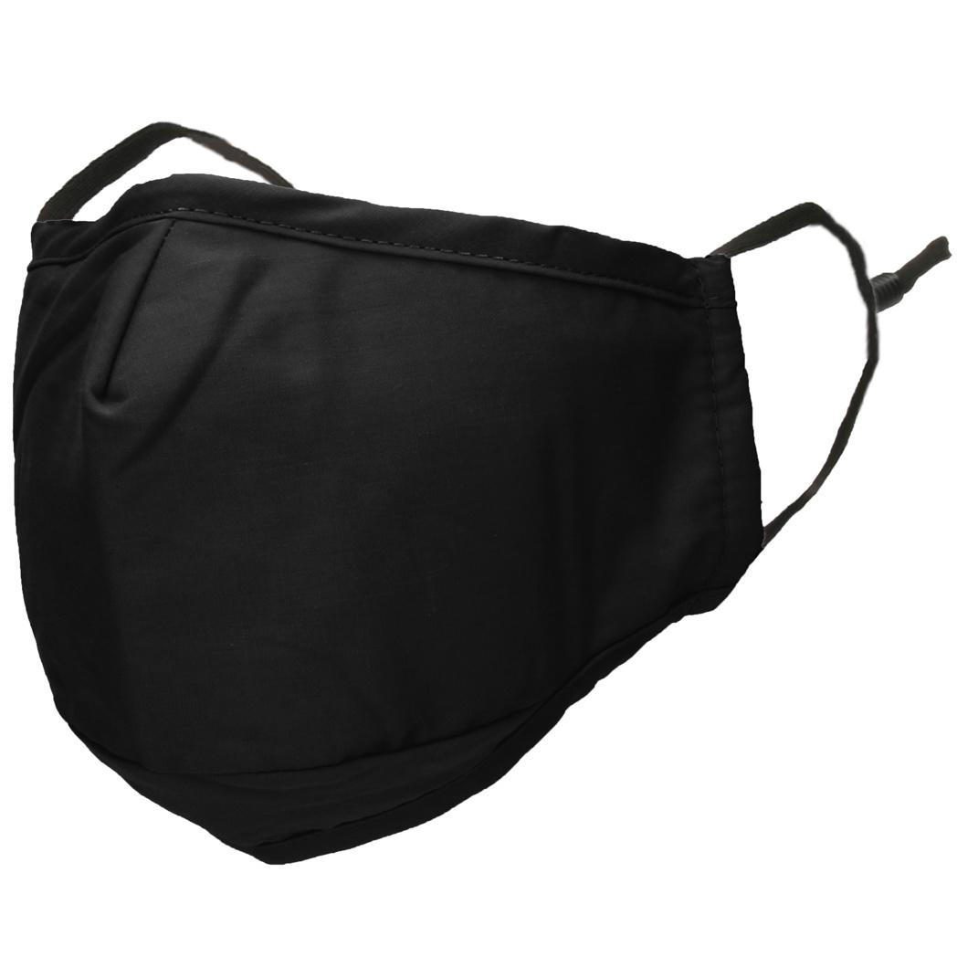 iMoshion Herbruikbaar, wasbaar mondkapje 3-laags katoen - Zwart