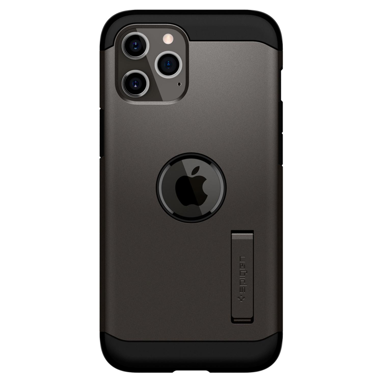 Spigen Tough Armor Backcover iPhone 12 (Pro) - Grijs