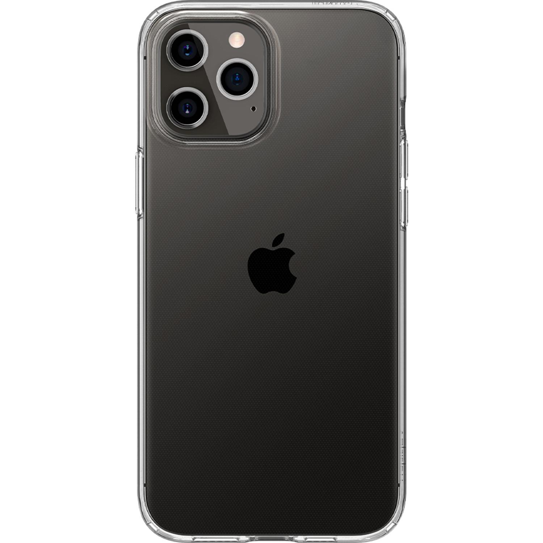 Spigen Liquid Crystal Backcover iPhone 12 (Pro)
