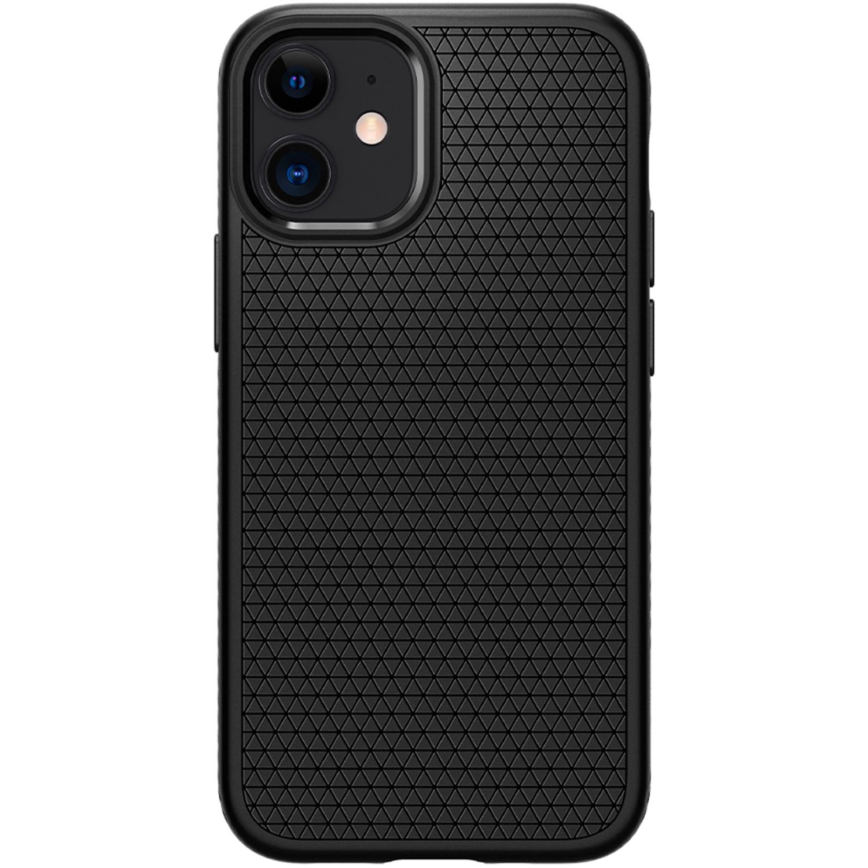 Spigen Liquid Air Backcover iPhone 12 Mini - Zwart