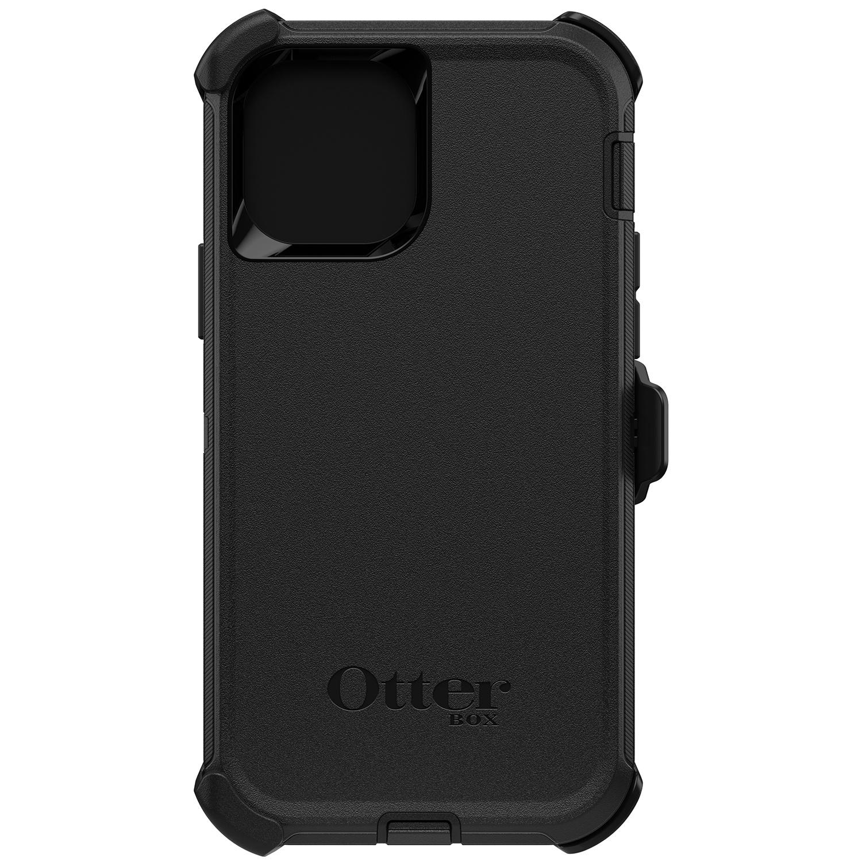 OtterBox Defender Rugged Backcover iPhone 12 (Pro) - Zwart