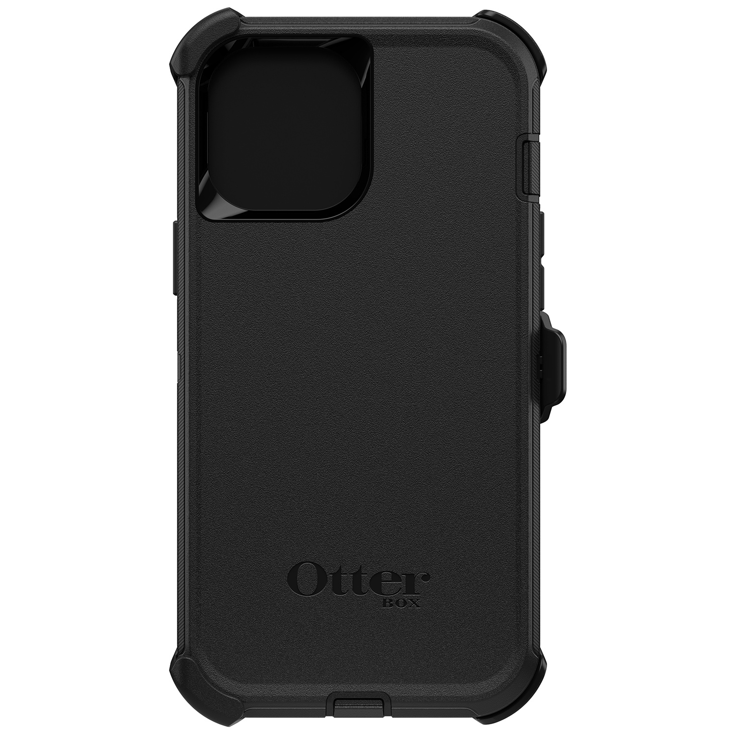OtterBox Defender Rugged Backcover iPhone 12 Pro Max - Zwart