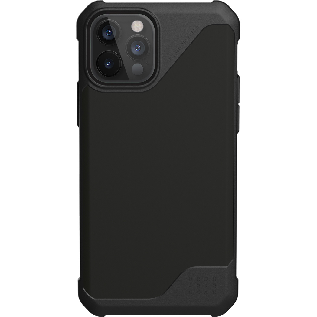 UAG Metropolis LT Backcover iPhone 12 (Pro) - Zwart