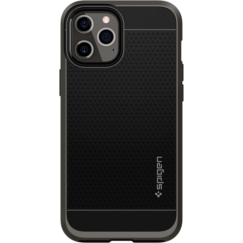 Spigen Neo Hybrid Backcover iPhone 12 (Pro) - Zwart