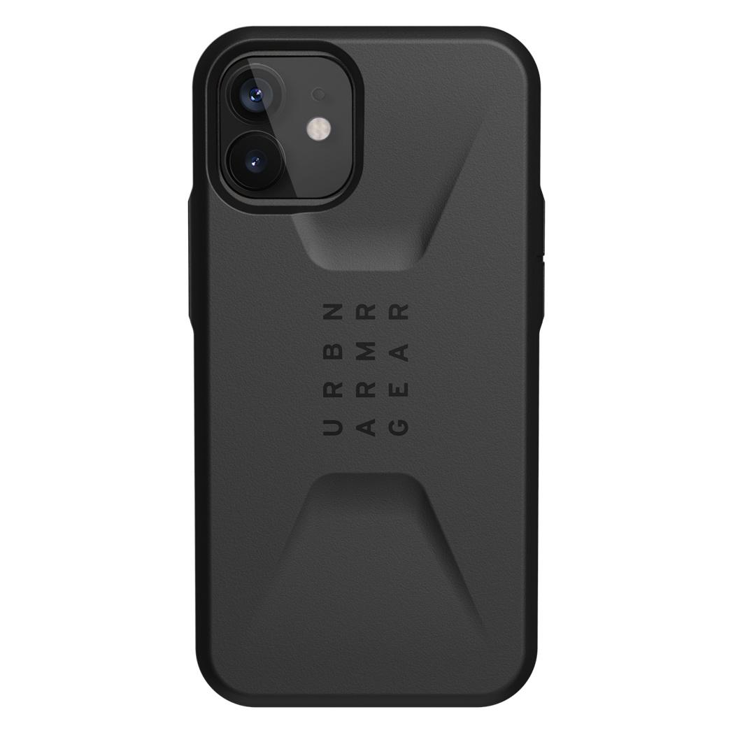 UAG Civilian Backcover iPhone 12 Mini - Zwart
