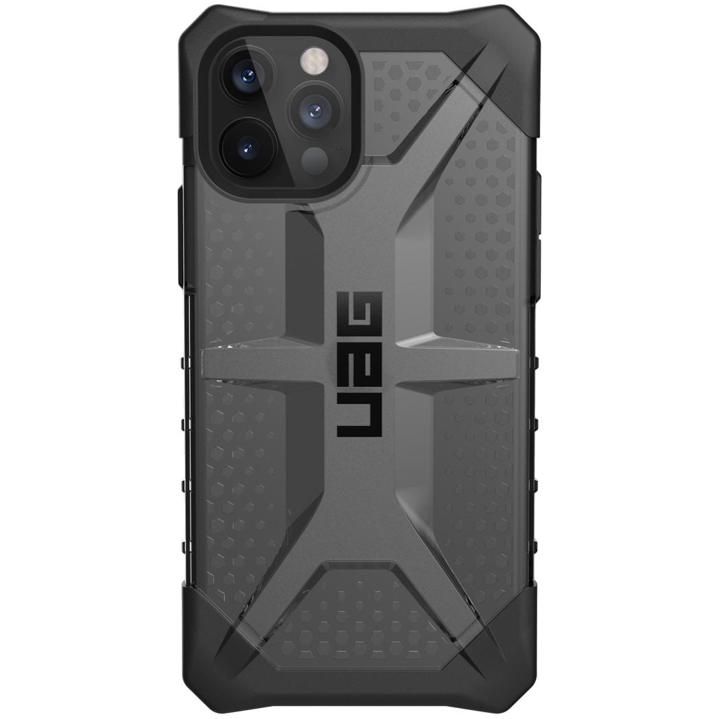 UAG Plasma Backcover iPhone 12 (Pro) - Ash Black