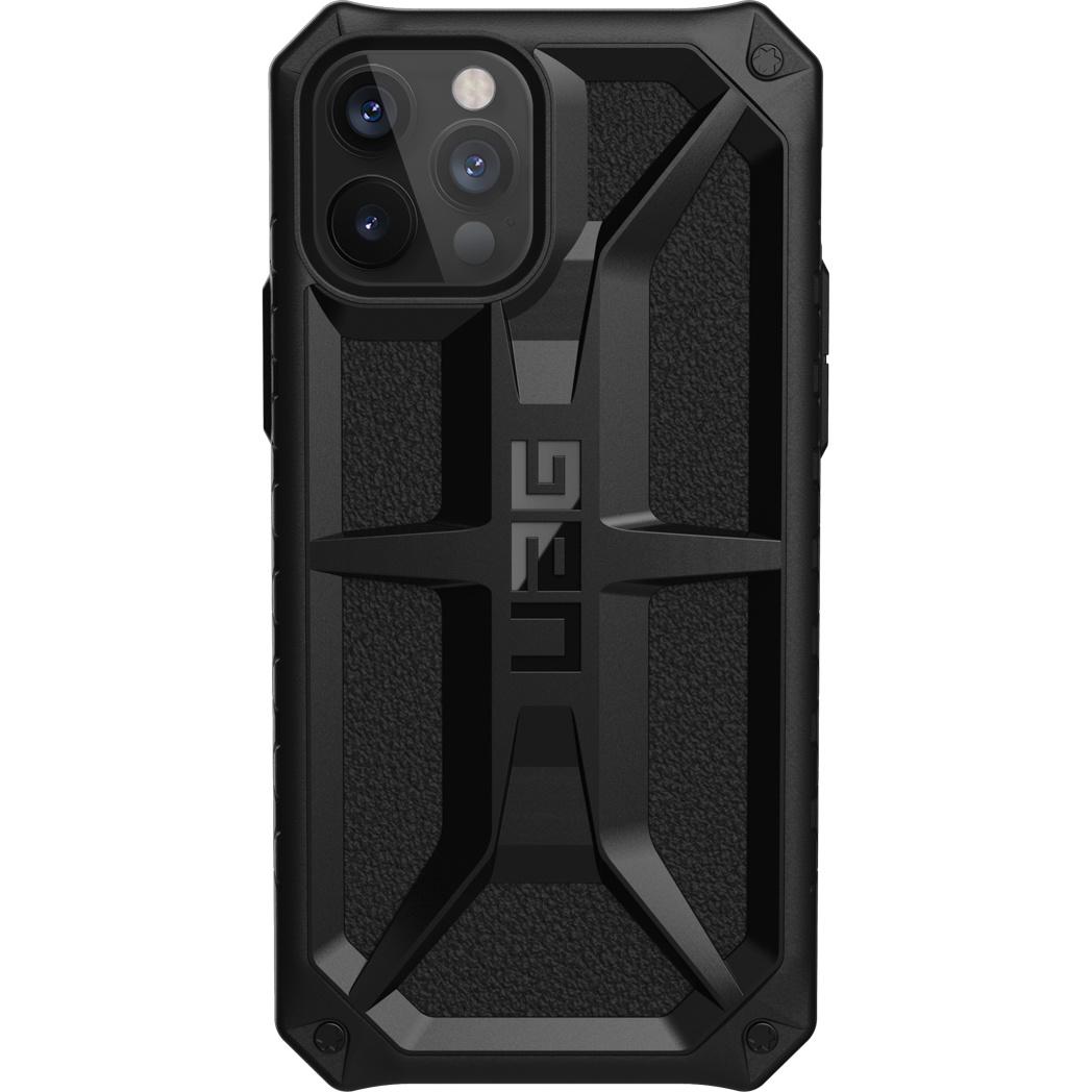 UAG Monarch Backcover iPhone 12 (Pro) - Zwart