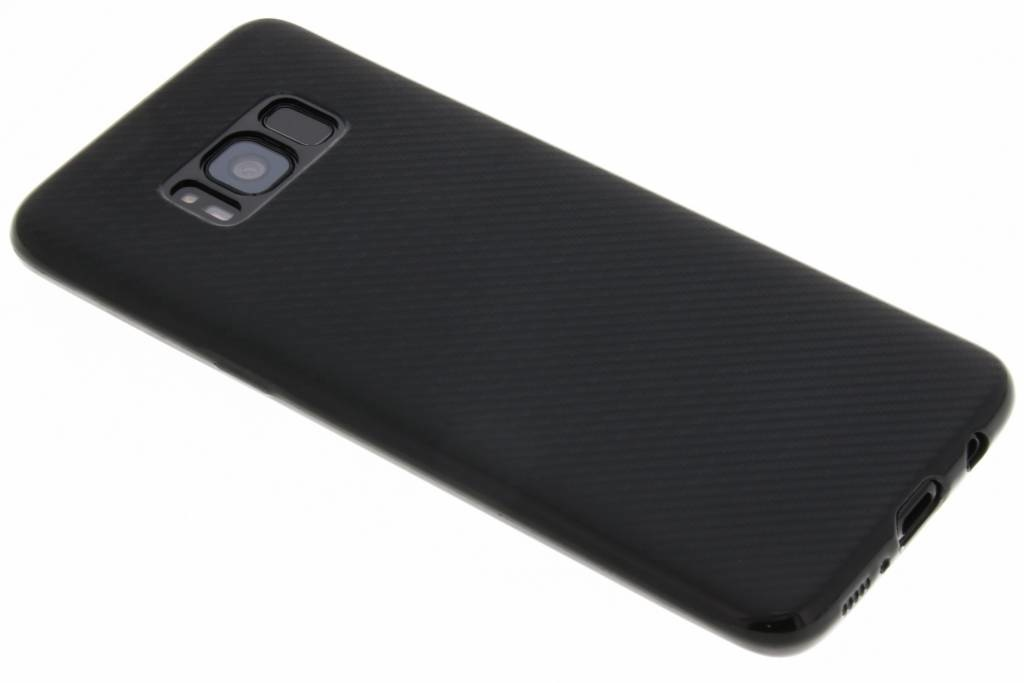 Carbon Softcase Backcover Samsung Galaxy S8