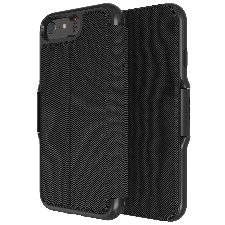 Gear4 Oxford Eco Booktype iPhone SE (2020) / 8 / 7 / 6(s) - Zwart