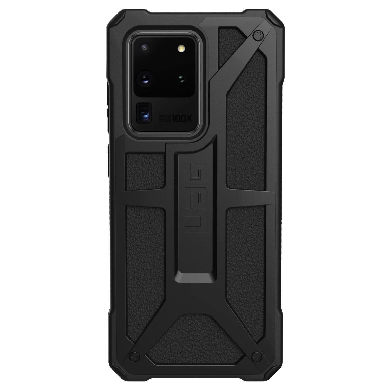 UAG Monarch Backcover Samsung Galaxy S20 Ultra - Zwart