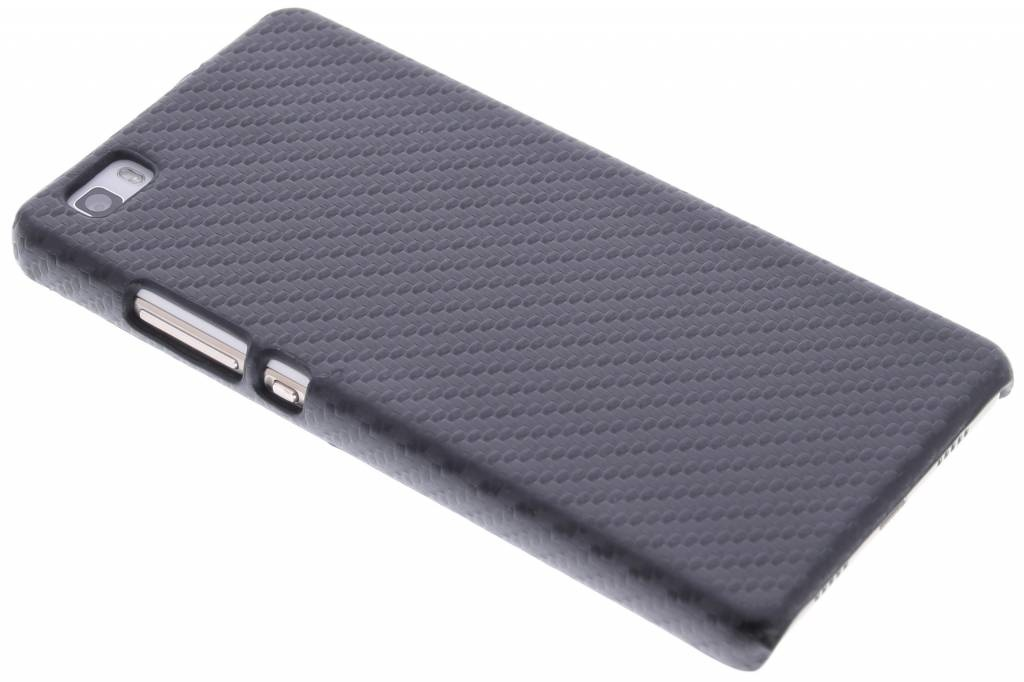 Carbon Hardcase Backcover Huawei P8 Lite