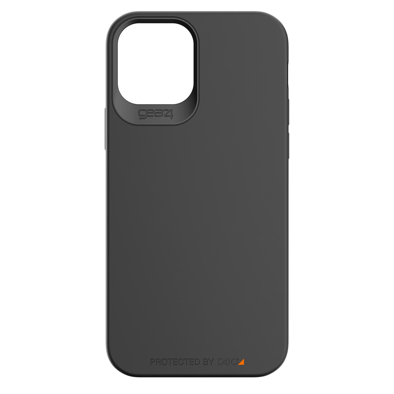 Gear4 Holborn Backcover iPhone 12 (Pro) - Zwart