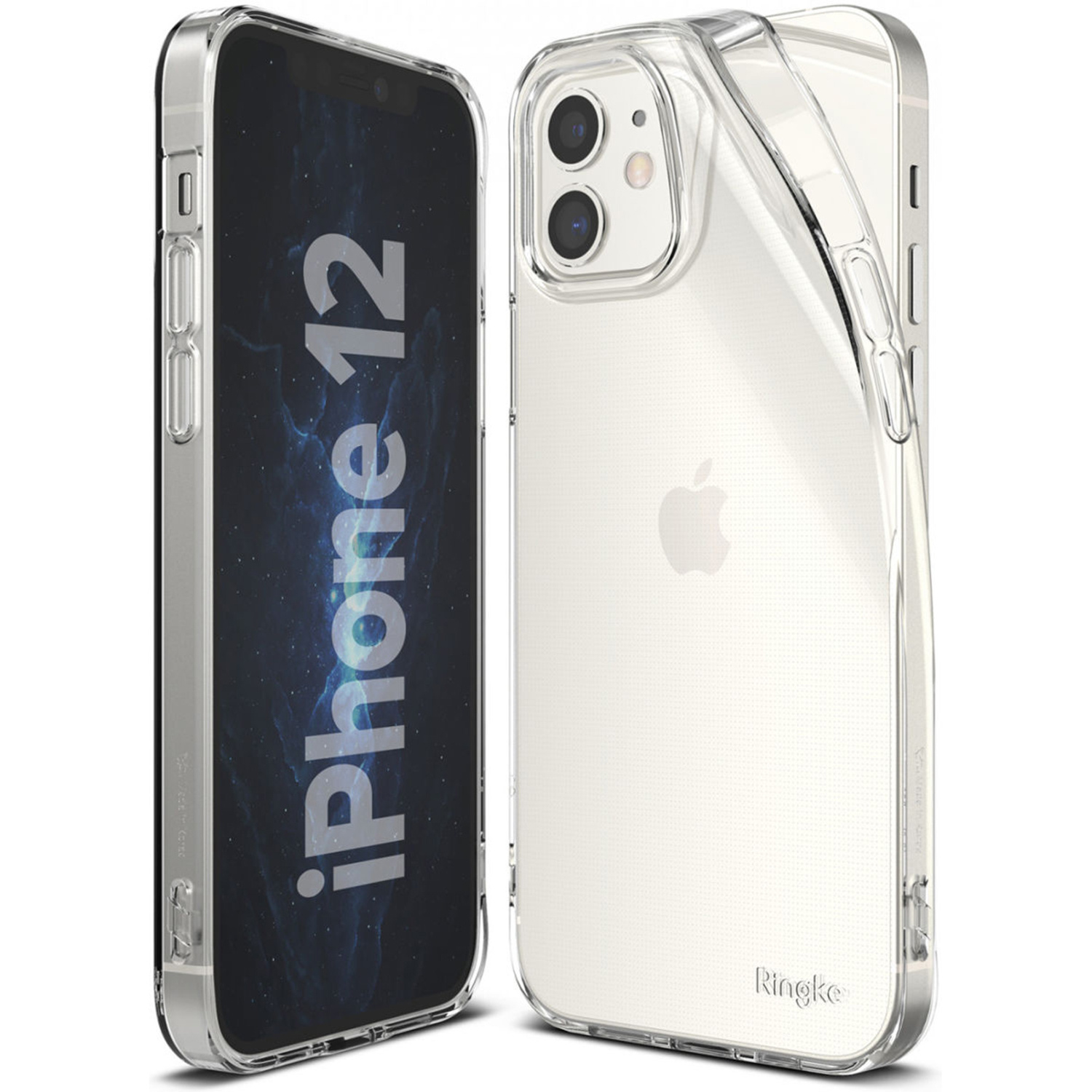 Ringke Air Backcover iPhone 12 (Pro) - Transparant