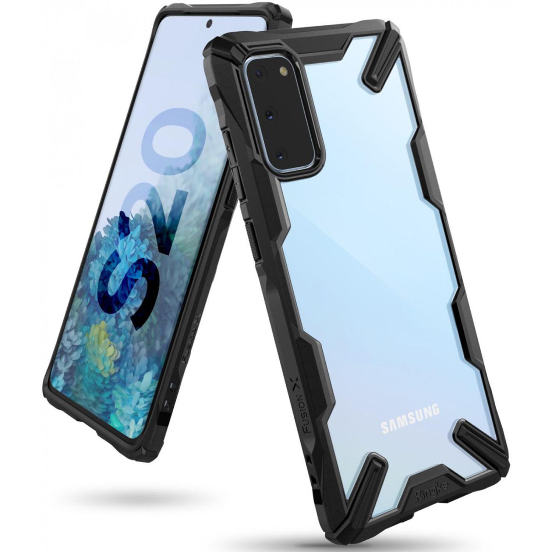 Ringke Fusion X Backcover Samsung Galaxy S20 - Zwart