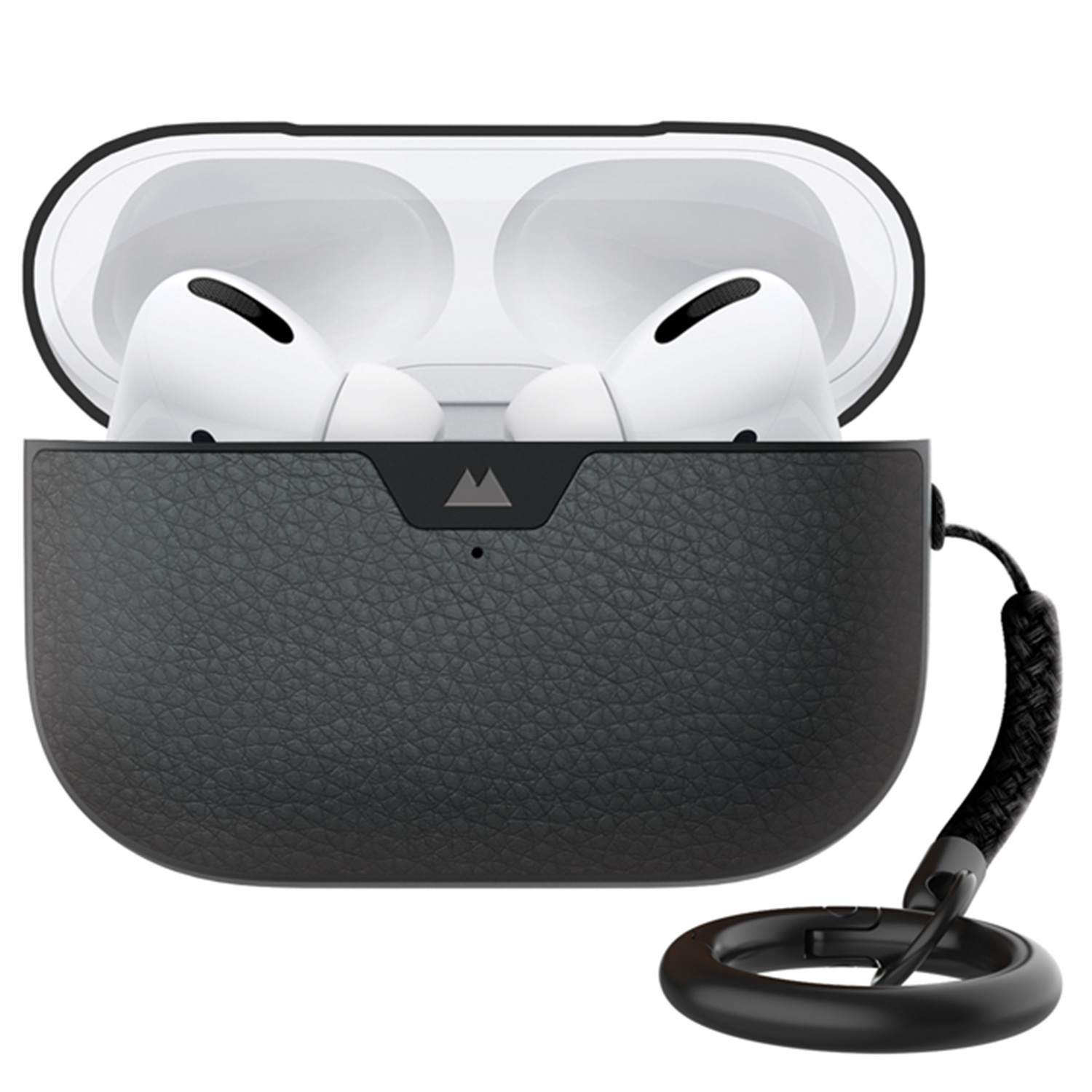 Mous Leather Protective Case AirPods Pro - Zwart