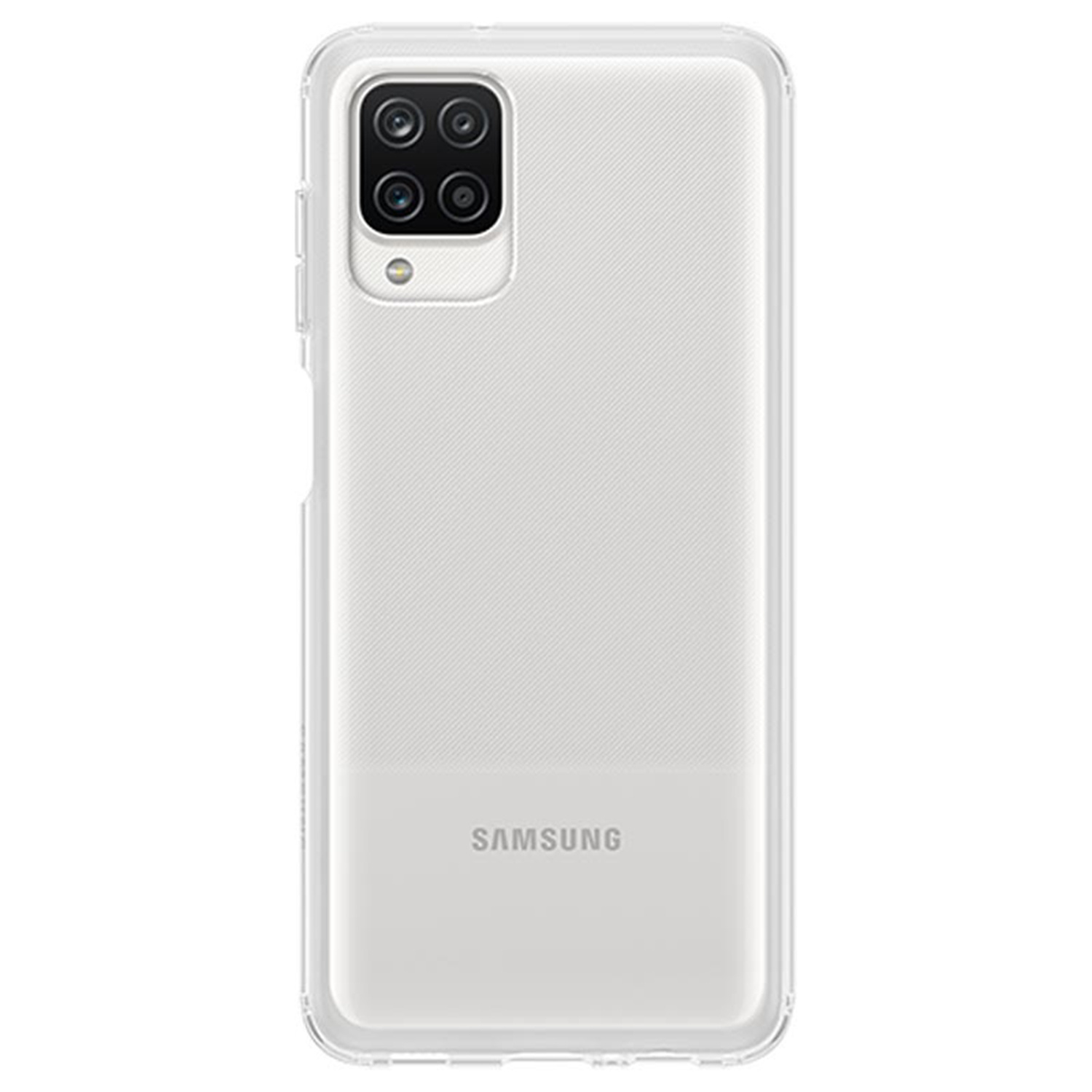 Samsung Silicone Clear Cover Galaxy A12 - Transparant