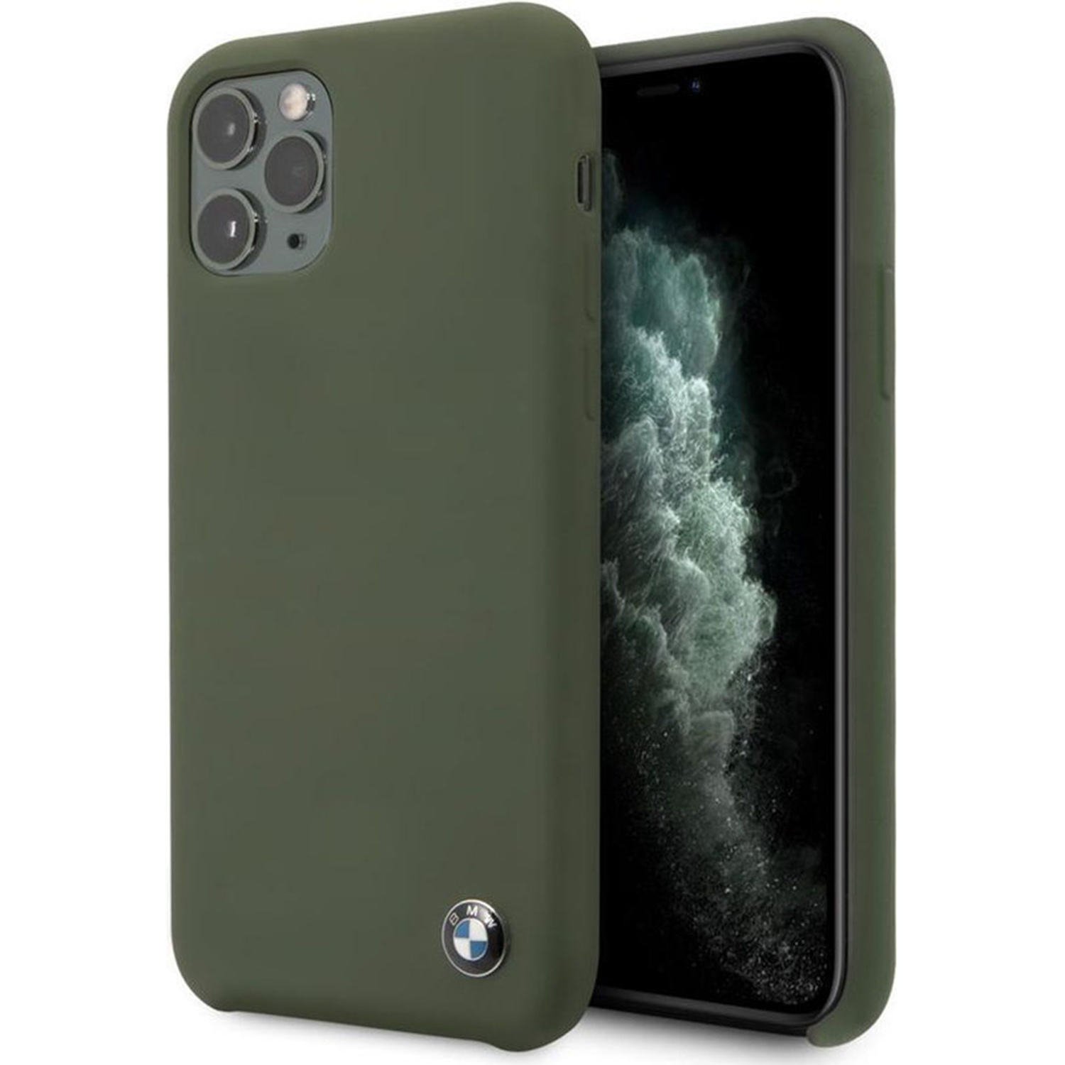 Silicone Backcover iPhone 11 Pro - Groen