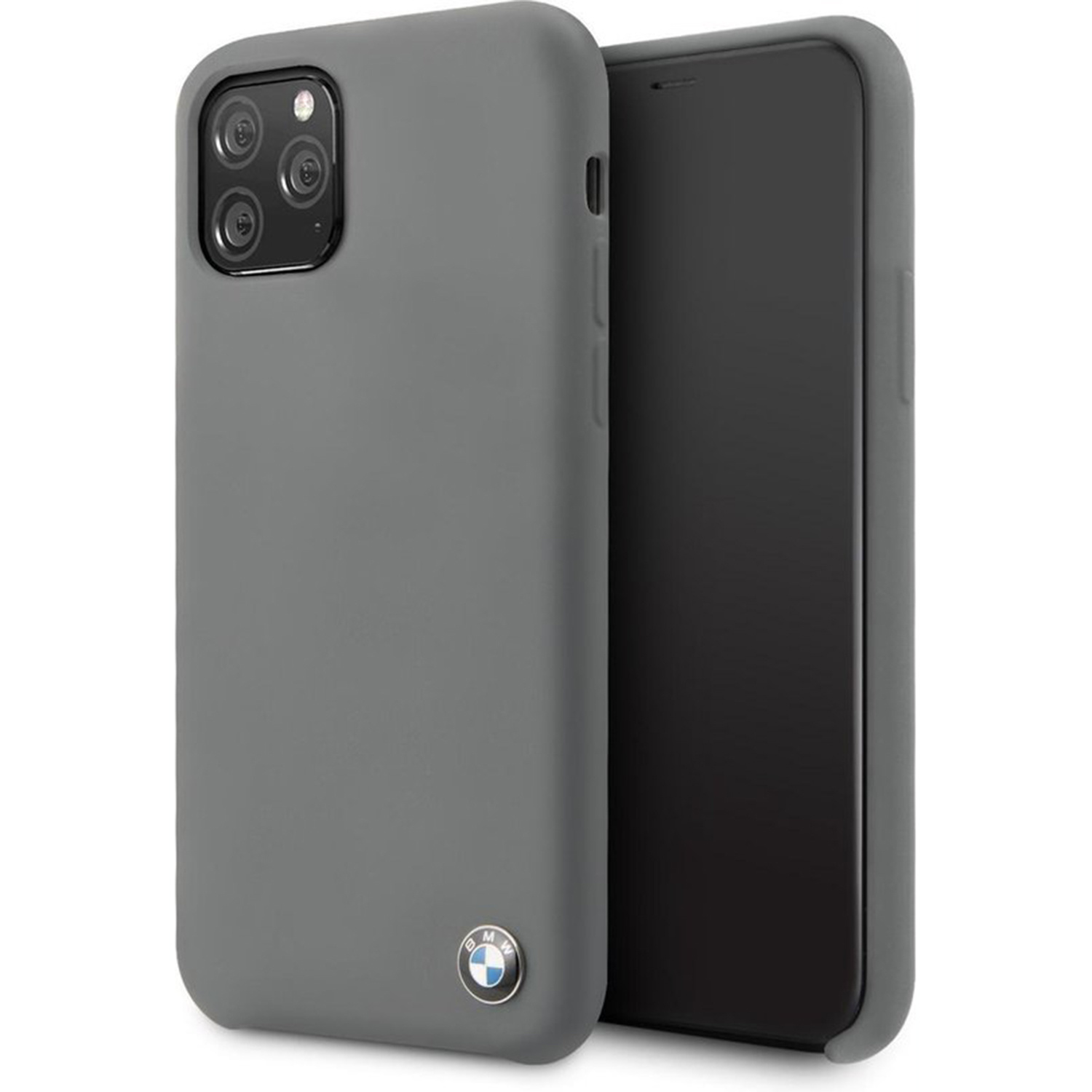 BMW Silicone Backcover iPhone 11 Pro Max - Grijs