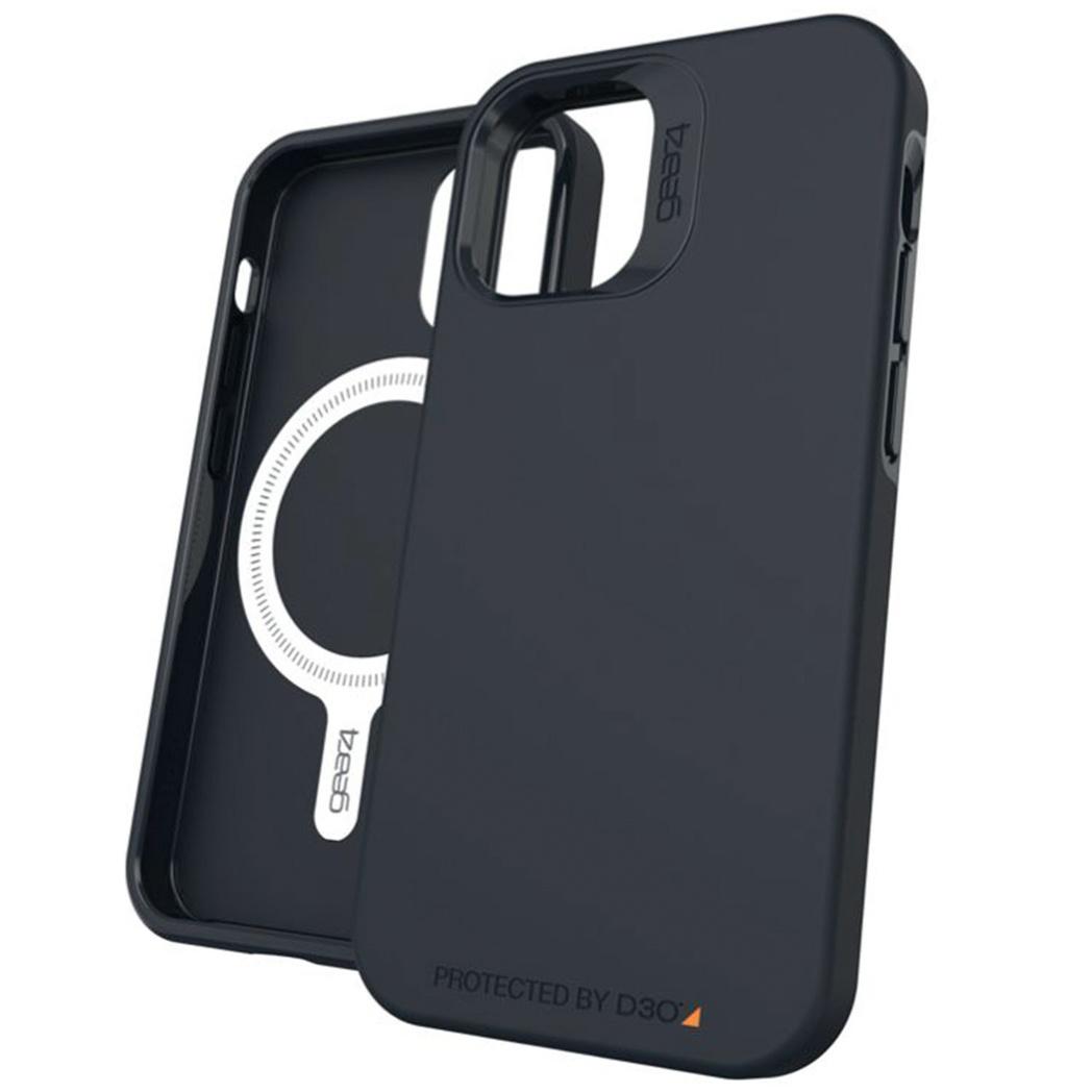 Gear4 Rio Snap Backcover iPhone 12 Mini - Zwart