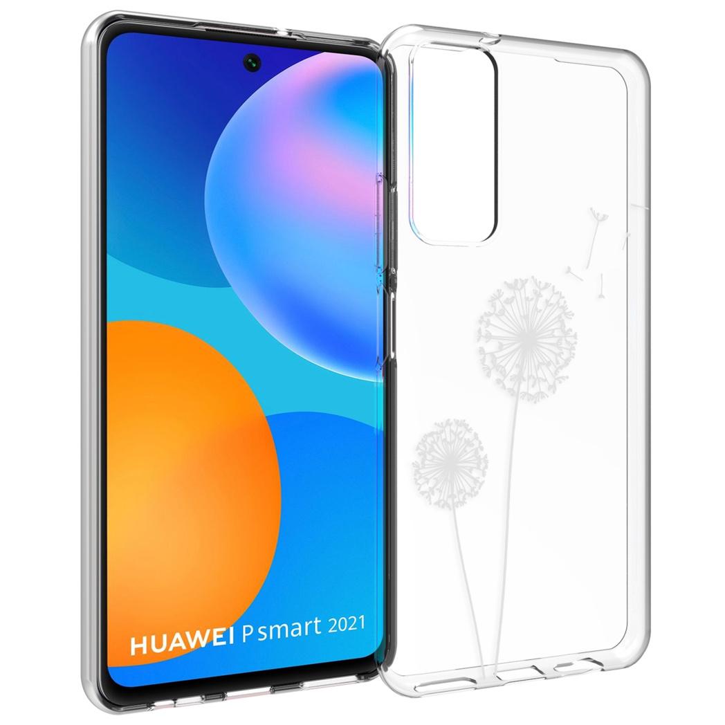 iMoshion Design hoesje Huawei P Smart (2021) - Paardenbloem - Wit