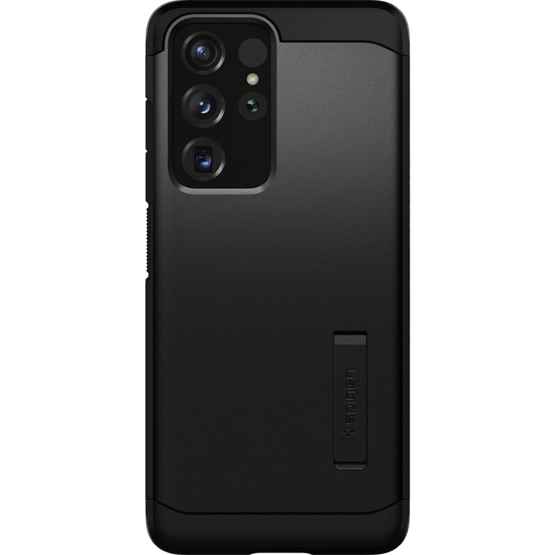 Spigen Tough Armor Backcover Samsung Galaxy S21 Ultra - Zwart