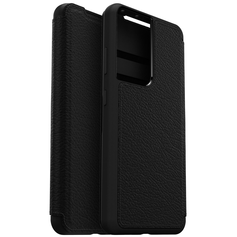 OtterBox Strada Booktype Samsung Galaxy S21 Ultra - Zwart