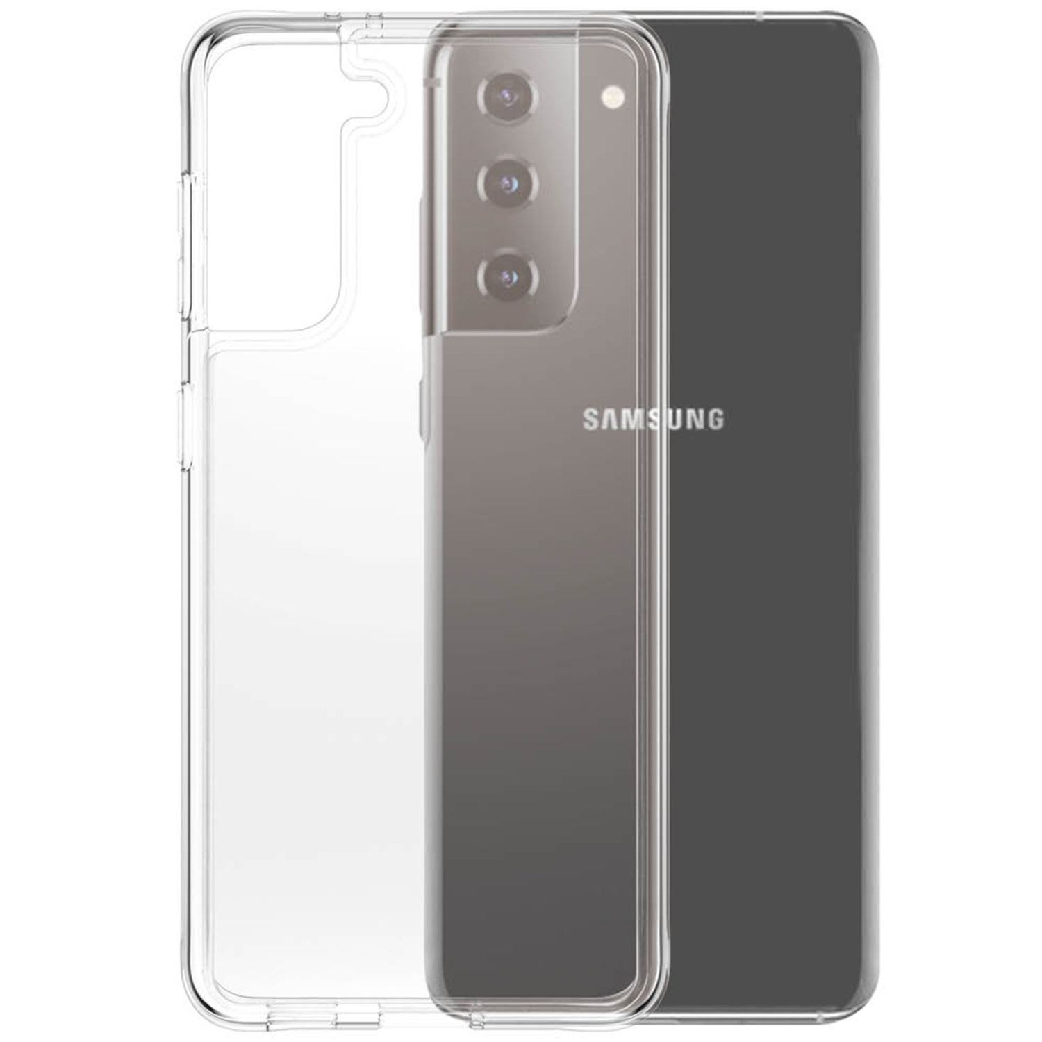 PanzerGlass ClearCase AntiBacterial Samsung Galaxy S21 - Transparant