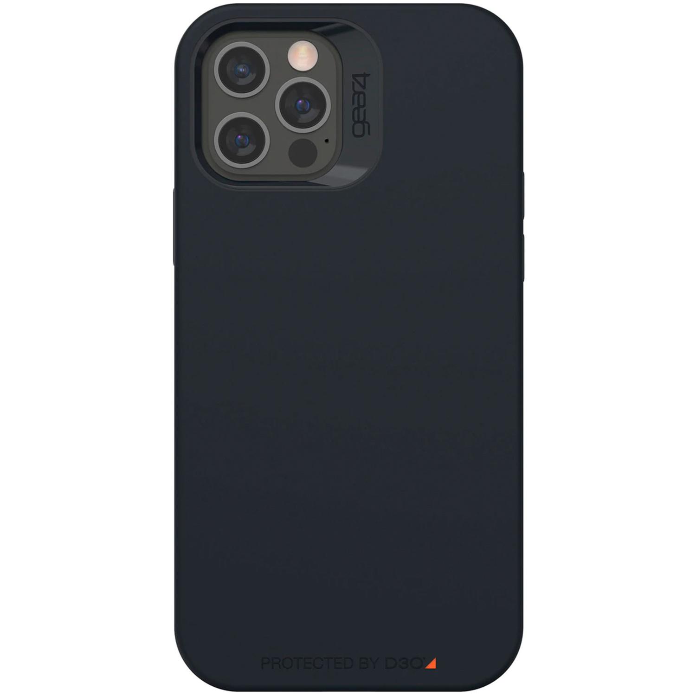 Gear4 Rio Snap Backcover iPhone 12 (Pro) - Zwart