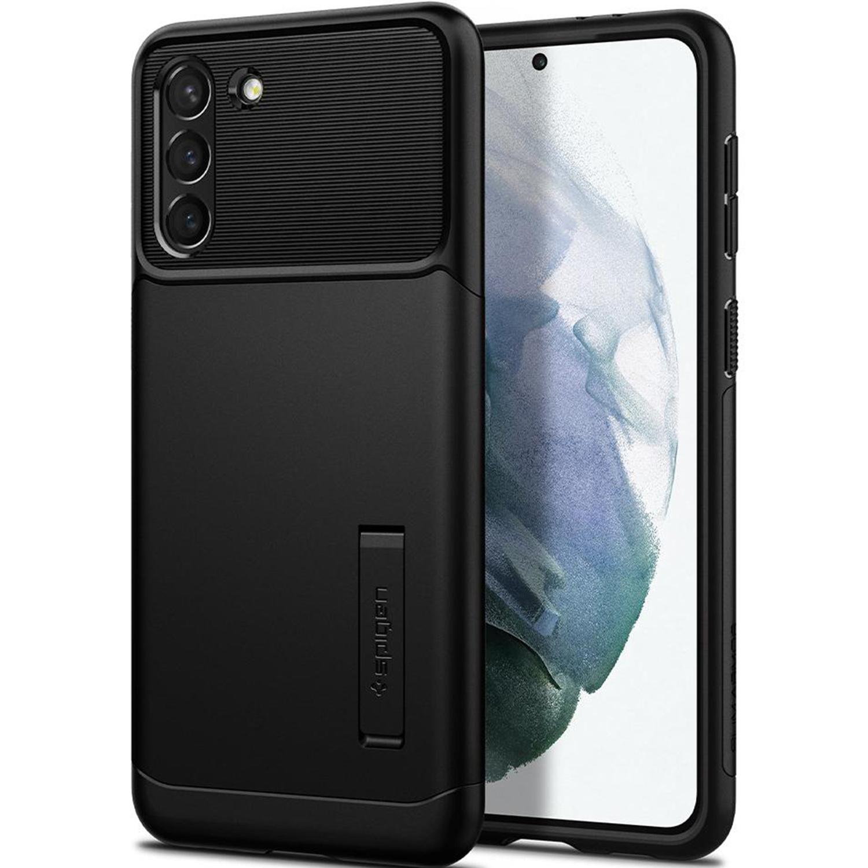 Spigen Slim Armor Backcover Samsung Galaxy S21 Plus - Zwart
