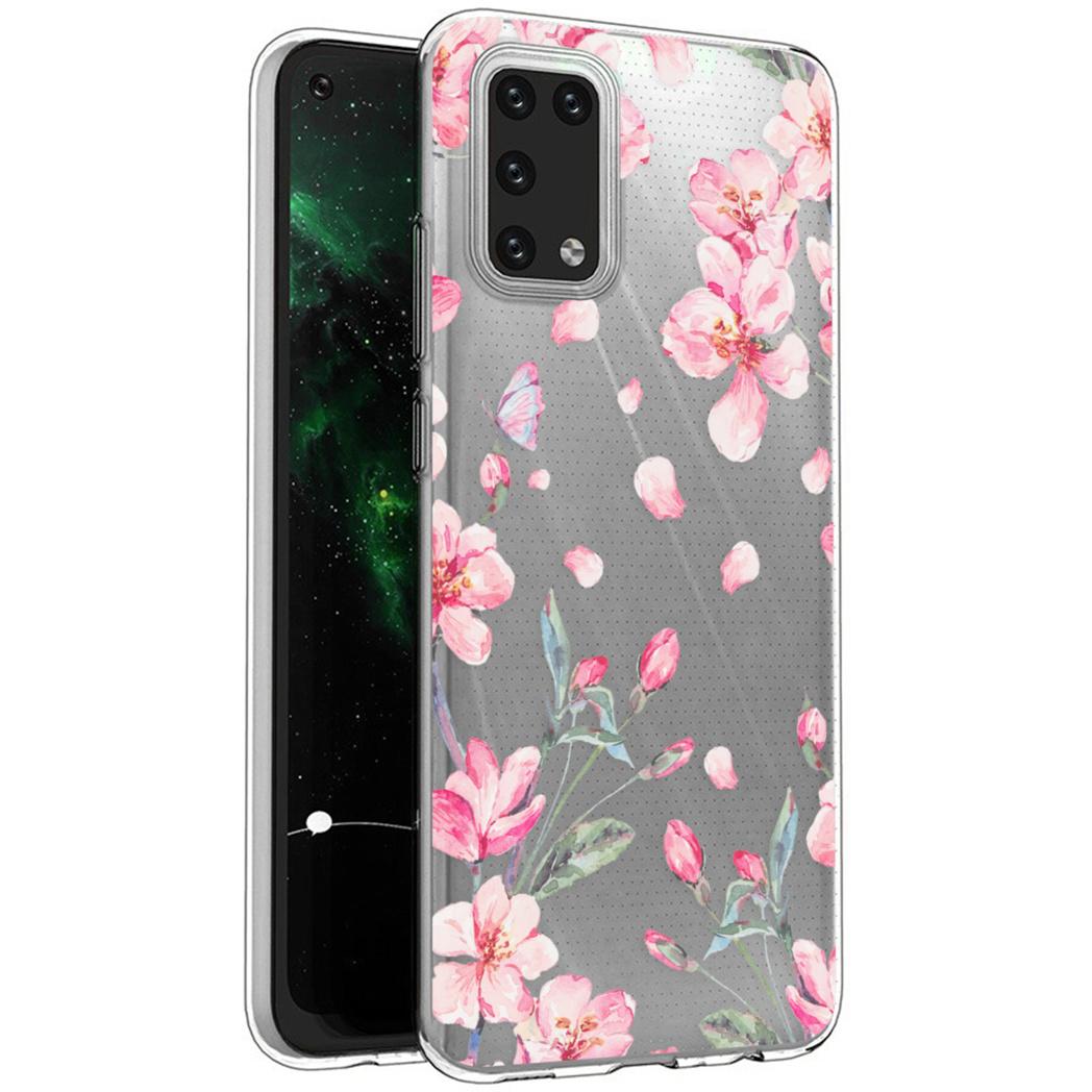 iMoshion Design hoesje Samsung Galaxy A02s - Bloem - Roze