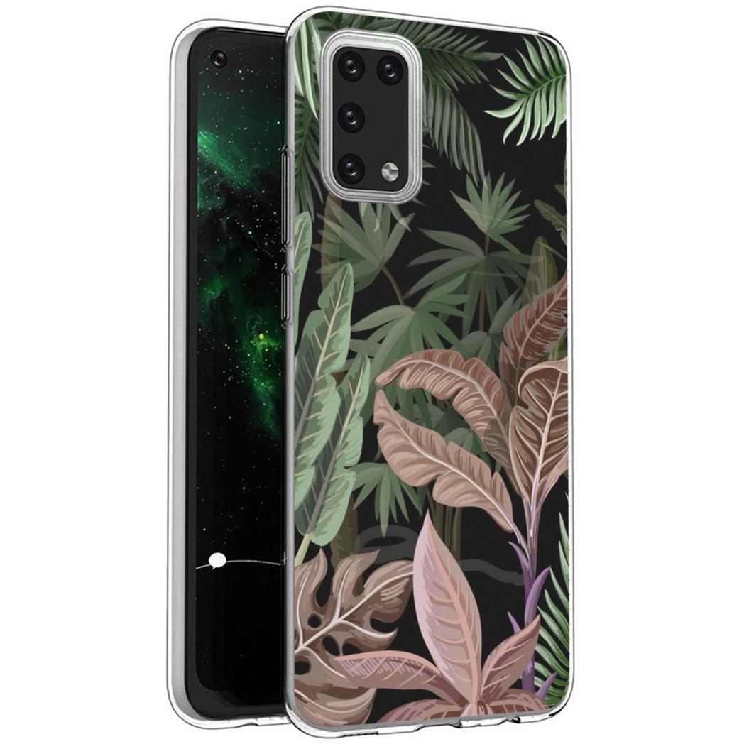 iMoshion Design hoesje Samsung Galaxy A02s - Jungle - Groen / Roze