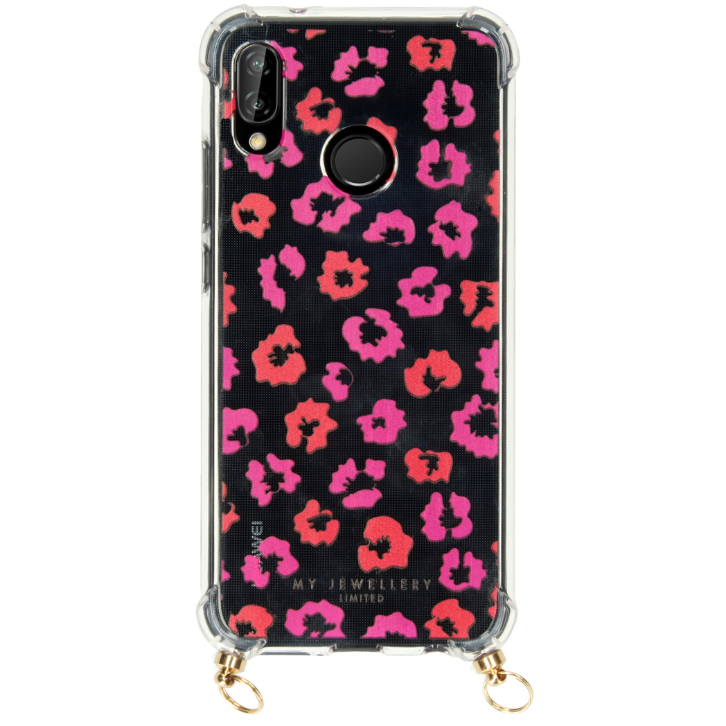 My Jewellery Design Softcase Koordhoesje Huawei P20 Lite - Leopard