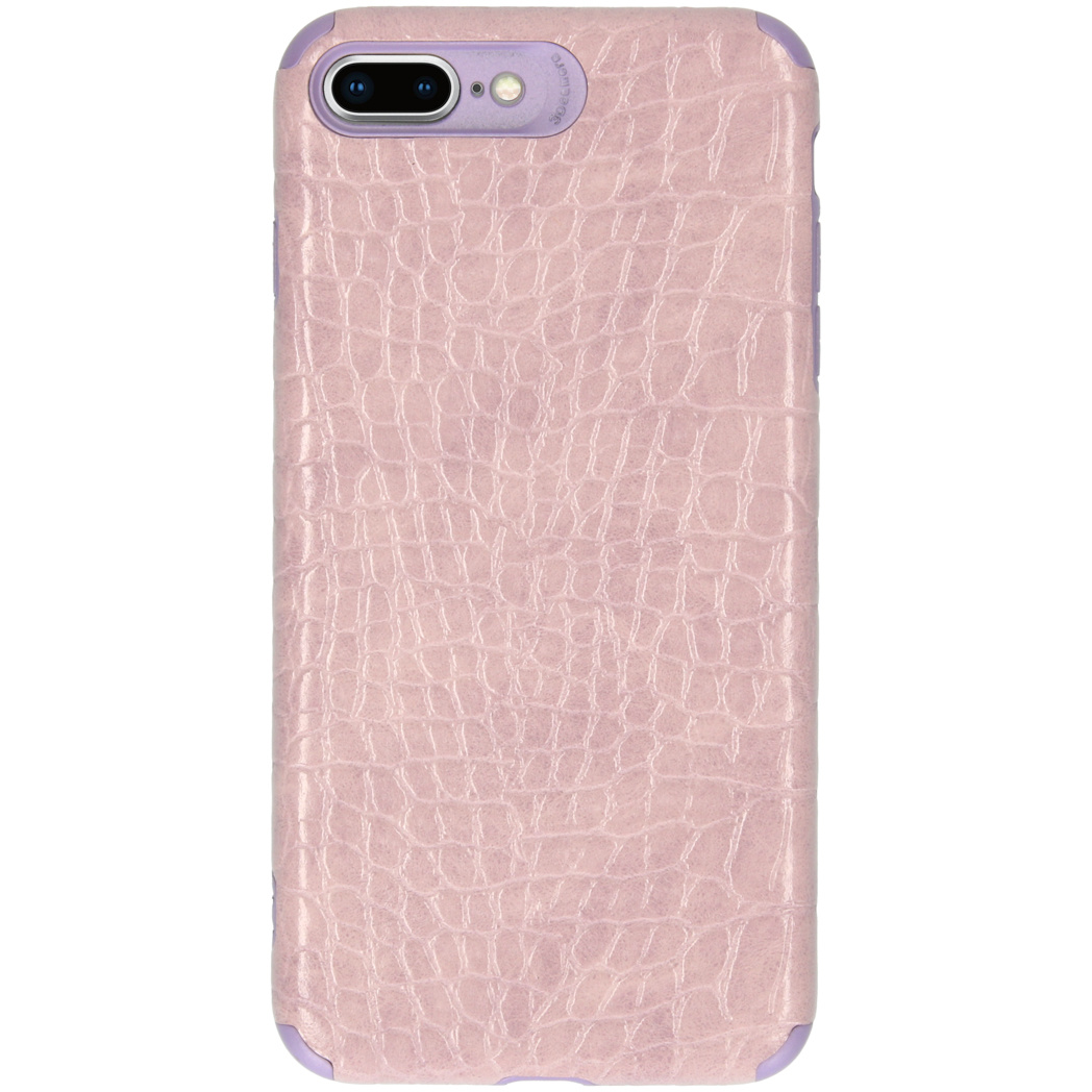 My Jewellery Croco Softcase Backcover iPhone 8 Plus / 7 Plus - Paars