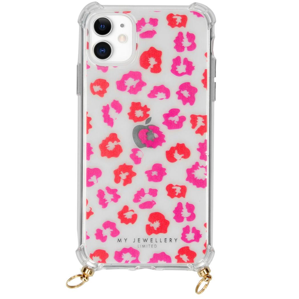 My Jewellery Design Softcase Koordhoesje iPhone 11 - Leopard