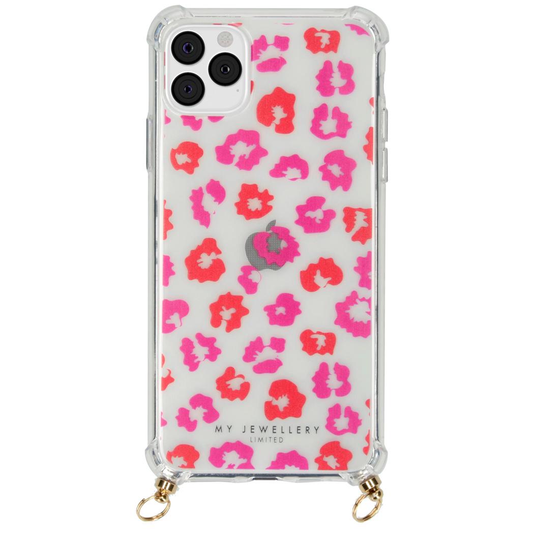 My Jewellery Design Softcase Koordhoesje iPhone 11 Pro Max - Leopard