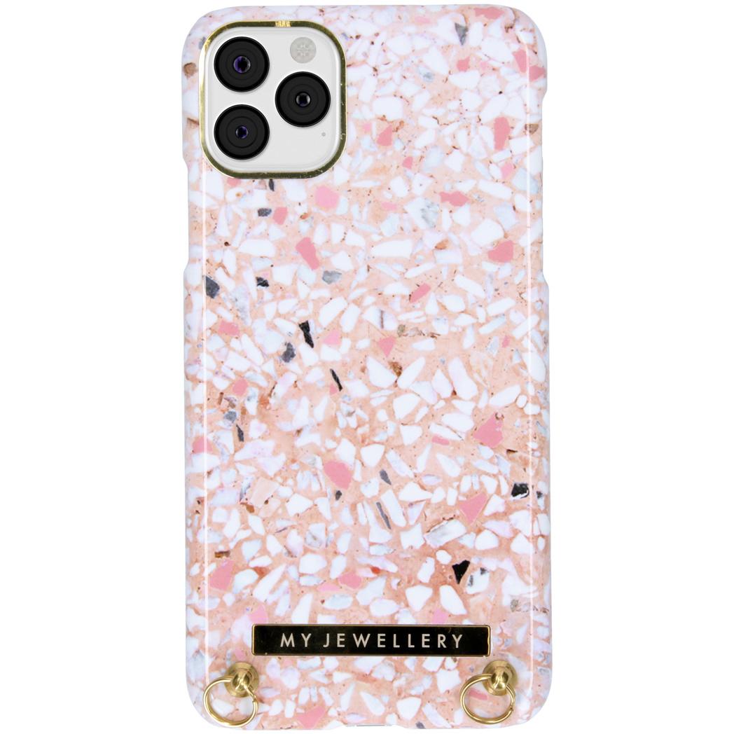 My Jewellery Design Hardcase Koordhoesje iPhone 11 Pro Max - Pink Brick