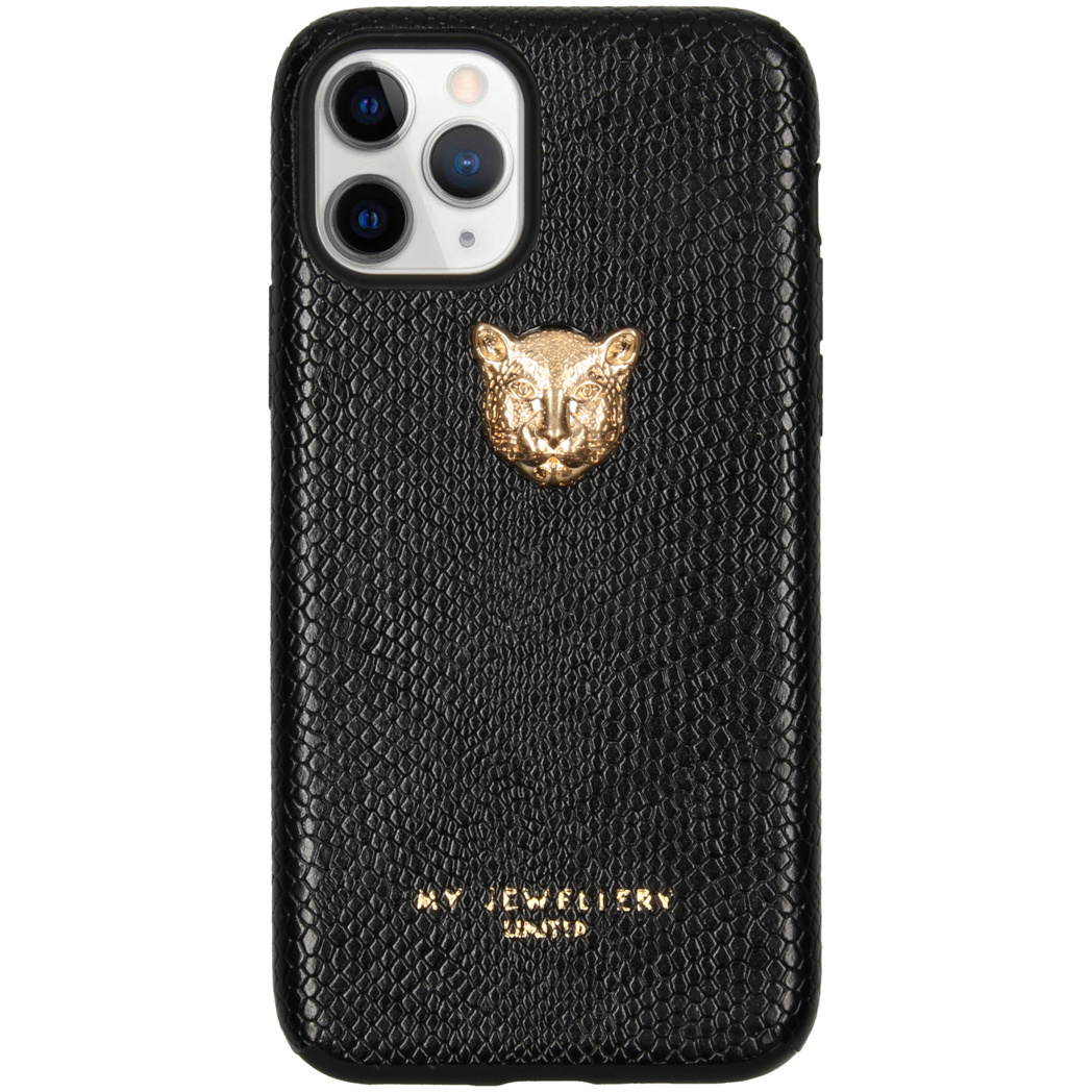 My Jewellery Tiger Softcase Backcover iPhone 11 Pro - Zwart