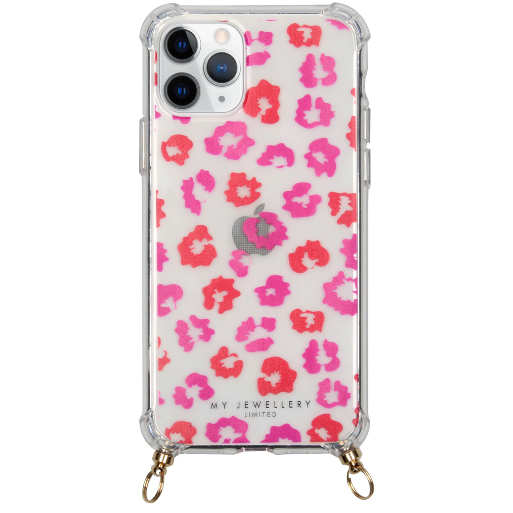 My Jewellery Design Softcase Koordhoesje iPhone 11 Pro - Leopard